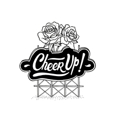 "Des roses contre le cancer avec l'association ""Cheer Up"""