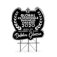 Delphine Gibassier joins the jury of the Global Responsible Awards 2020!