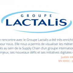 Découverte du Groupe Lactalis pour les étudiants du MS MASC