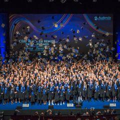 Cérémonie de remise des diplômes Audencia Grande École