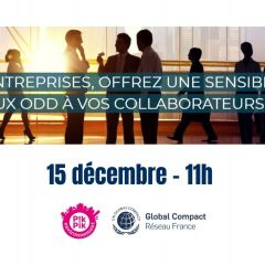 Atelier découverte des ODD par le Global Compact France
