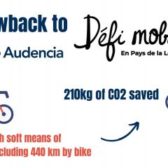 Audencia's participation in the 2020 soft mobility challenge