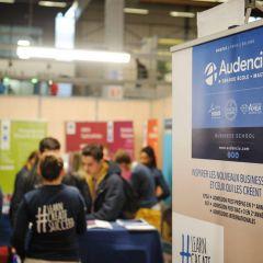 Retrouvez Audencia Grande École sur les salons en octobre
