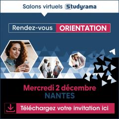 Salon virtuel Studyrama Grandes Ecoles - NANTES