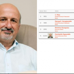 C. Zopounidis ranks 4th at the Ranking for Computer Science