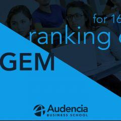 Audencia stays firmly in the race!