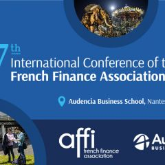 INTERNATIONAL CONFERENCE OF THE FRENCH FINANCE ASSOCIATION