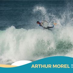 ARTHUR MOREL, Champion de France Juniors 2016 de Bodyboard