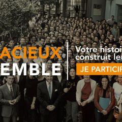 AUDACIEUX ENSEMBLE, LA CAMPAGNE DE LA FONDATION AUDENCIA