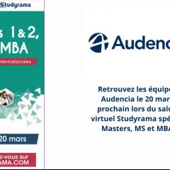 Salon virtuel Studyrama - Spécial M2, MS et MBA