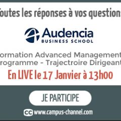 LIVE CAMPUS CHANNEL   FORMATION AMP - Trajectoire Dirigeant