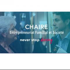 Un regard psychosocial sur l'entrepreneuriat familial