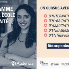 Une version augmentée du Programme Grande Ecole d'Audencia