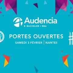 JOURNÉE PORTES OUVERTES AUDENCIA BACHELORS - 3 FÉVRIER