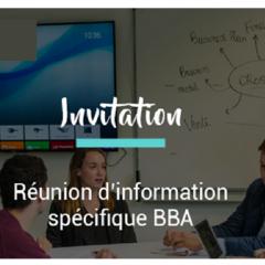 Réunion d'information BBA