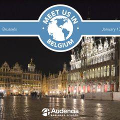 Meet us in Belgium