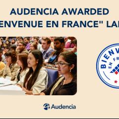 AUDENCIA IS AWARDED THE