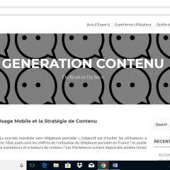 Découverte d'un blog du SMED !
