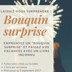 Bouquin Surprise : laissez-vous surprendre !