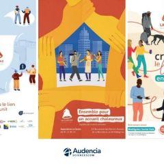Throwback at Audencia SciencesCom's solidarity campaign