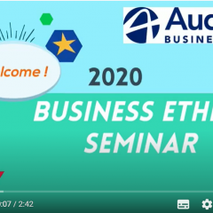 Le code de déontologie au cœur du séminaire Business Ethics