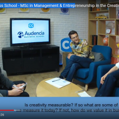 Live webinar on the Creative Economy with programme director