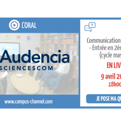 Live Campus Channel Audencia SciencesCom
