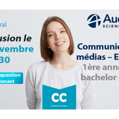 Live Campus Channel Audencia SciencesCom