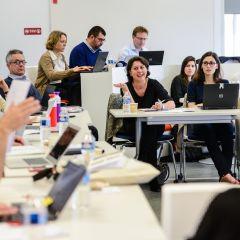 J-7 : réunion des équipes STEP France + Europe à Audencia