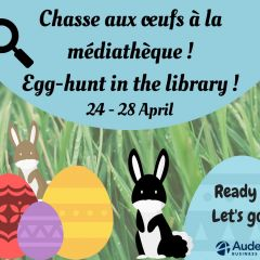 Egg-hunt in the library