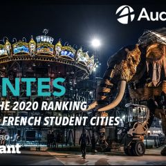 Nantes is ranked 3rd best student city