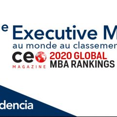 L'Executive MBA et le Full-time MBA d'Audencia sur le podium !