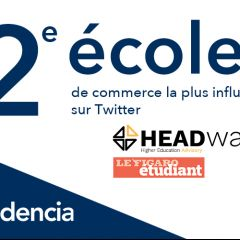 Classement HEADway Advisory «Twitter Influence »  des établissements d'enseignement supérieur 2020 !