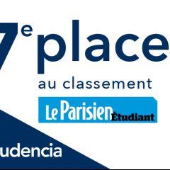 Audencia dans le top 10 du classement Le Parisen