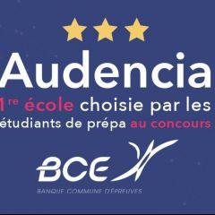 Audencia 1re école choisie par les prépas au concours BCE