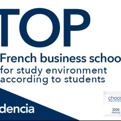 AUDENCIA N°1 IN THE HAPPYATSCHOOL® 2020 RANKING