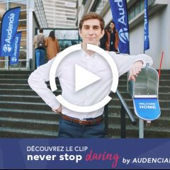Nouveau film Audencia : Never Stop Daring