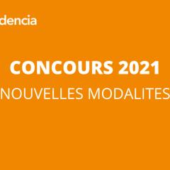 CONCOURS 2021 - NOUVELLES MODALITES