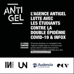 Les étudiants s'attaquent aux infox liées au COVID-19 avec l'agence Antigel