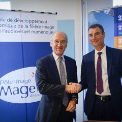 Audencia s'implante au sein du Pôle Image Magelis,  leader de la filière image et audiovisuel numérique