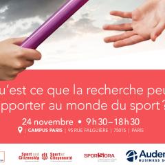 Conférence sur les domaines Recherche /Sport