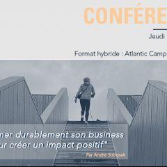 Conférence - La transformation durable de son business model