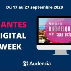 Audencia, porteuse de projets pour la Nantes Digital Week