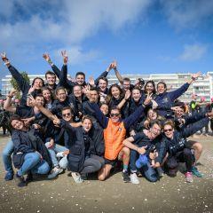 Le triathlon Audencia – La Baule a la main verte