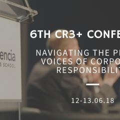 6th CR3+ Conference