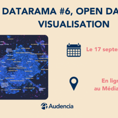 NANTES DIGITAL WEEK : DATARAMA #6,OPEN DATA ET VISUALISATION
