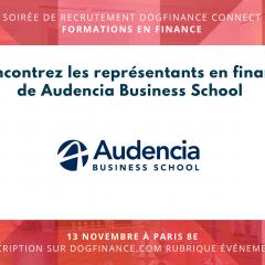 SOIRÉE DOGFINANCE CONNECT - SPÉCIALE FINANCE