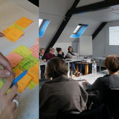 Organisation d'un atelier collaboratif sur les aidants