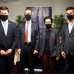Audencia aux côtés de Sarah El Haïry, Secrétaire d'Etat
