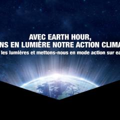 Avec Earth Hour mettons en lumière notre action climatique !